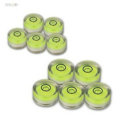 Circular Level 5 Pcs Ø 15mm or 18mm Dragonfly round Precision Scale Level