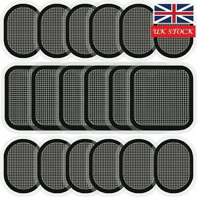 UK 3-6pcs Electrodes Body Pads Strong Gel Adhesive Compatible with Abs Belt