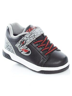 Heelys Black-Grey-Elephant Dual Up Kids Two Wheel Shoe