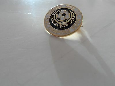 Rare Old Football Badge Bedford Town Champions 1993/4 Non League Gilt Broochpin