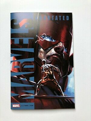 MARVELS ANNOTATED  # 3 of 4 Dell Otto Variant Cover NM  Silver Surfer Galactus