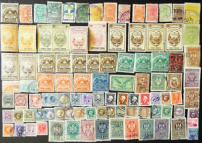 Collection Of Worldwide Revenue Stamps