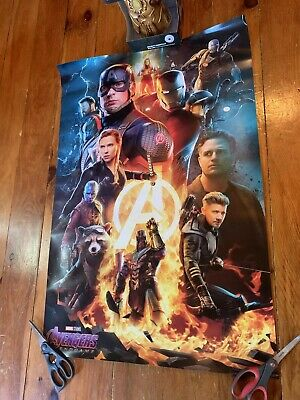 Original Limited Edition BossLogic AVENGERS: ENDGAME Poster 24x36 Atom Tickets