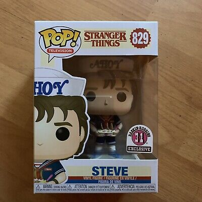 Funko Pop Steve Baskin Robbins Stranger Things 829 On Hand Exclusive