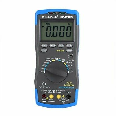 Holdpeak Hp-770Hc True Rms Auto Ranging Digital Multimeter With Ncv Feature I5P1