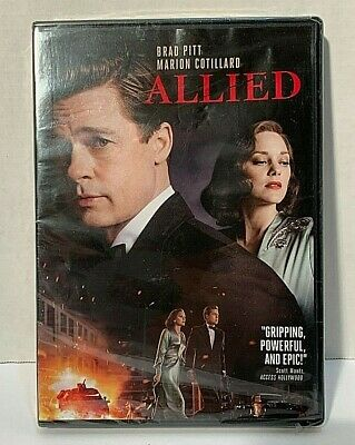 Allied (DVD, 2017) NEW! FREE SHIPPING!