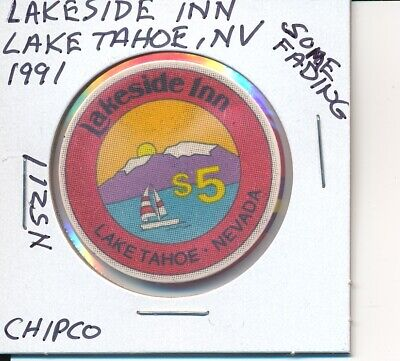 $5 Casino Chip - Carson Valley Inn Minden Nv 1992 Chipco #N5005 Some Edge Fading