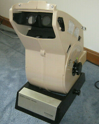 TITMUS OPTICAL / VISION TESTER OV-7M with 11 slides