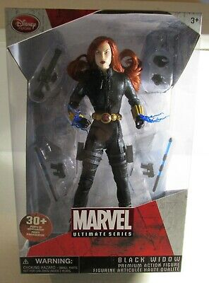 Disney Store Marvel Ultimate Series BLACK WIDOW 30+ Points Articulation
