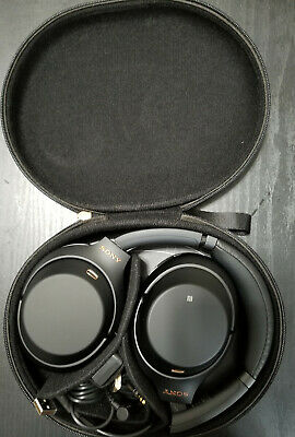 Sony WH-1000XM3/B Bluetooth Wireless Noise Canceling Stereo Headphones Black WH-