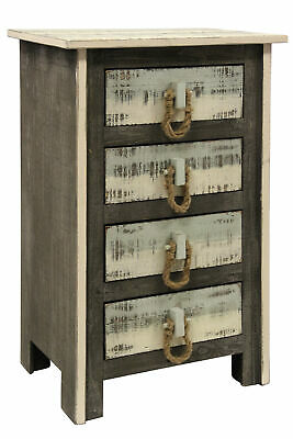 "StyleCraft SC-SF1926 13 1/3"" Wide Four Drawer Wood Accent Cabinet"