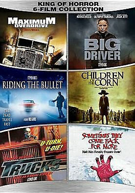 King Of Horror 6-Film Collection Dvd - King Of Horror 6-Film Collection - Movie