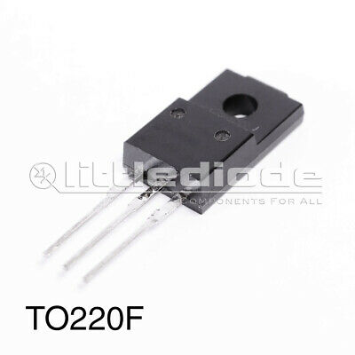 K10A60D SemiConductor - CASE: TO220F MAKE: Toshiba