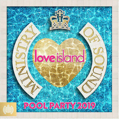 Various Artists : Love Island: Pool Party 2019 CD Box Set 3 discs (2019)