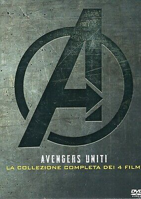 Avengers. Complete collection (1-4) (2019) 4 DVD