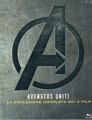 Avengers. Complete collection (1-4) + Bonus disc (2019) 5 Blu Ray