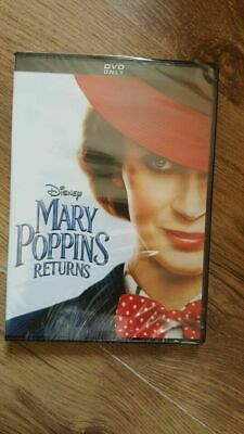 Mary Poppins Returns DVD Brand new & Sealed FREE POSTAGE