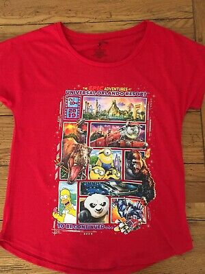 Universal Studios Adult Small 2019 Features Tee Shirt Minions Harry Potter (65)