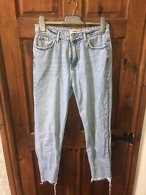 f52132c51cd New Look Tori Size UK 12 Mom Jeans Blue Relax Fit, Item Will Be Tracked