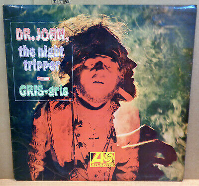 Dr JOHN THE NIGHT TRIPPER GRIS-GRIS OG UK STEREO ATLANTIC RECORDS LP 588147 1/1