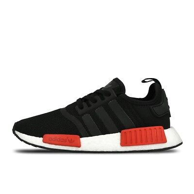 Mens Adidas Comme Des Garcons NMD R1 Black Red