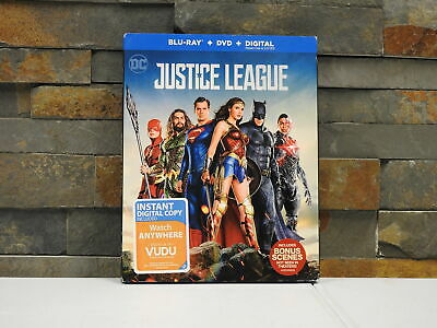 Justice League: Blu-ray + DVD + Digital Copy