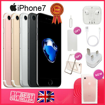 NEW Apple iPhone 7 32GB Factory Unlocked Smartphone 1Yr Wty in Sealed Box