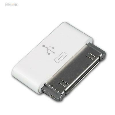 Micro USB Adaptateur sur 30 Pin Connector Chargeur pour IPHONE 4 4s 3 IPAD Ipod