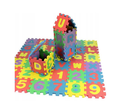 36pc ALPHABET PLAY MAT KIDS INTERLOCKING BABY SOFT EVA FOAM JIGSAW PUZZLE FLOOR