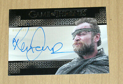 2019 Rittenhouse Game of Thrones Inflexions autograph auto Richard Dormer hobby
