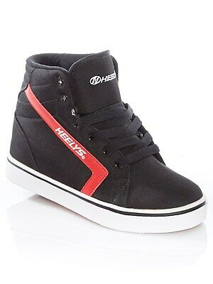 Heelys Black-Red GR8R Hi Kids One Wheel Hi Top Shoe