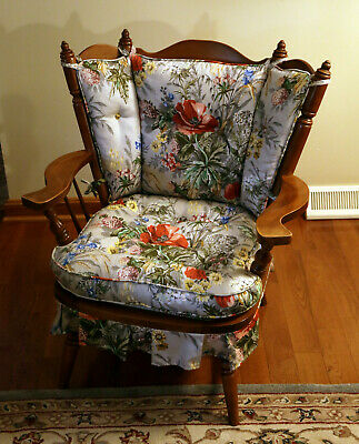 Vintage Tell City 1960's Rocking Chair with original tags!