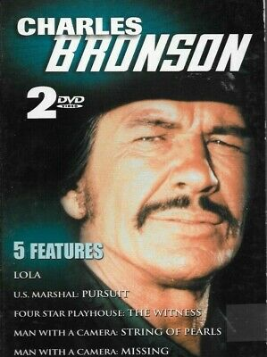Charles Bronson - 5 Features (DVD, 2003, 2-Disc Set) LOLA US MARSHAL PURSUIT +