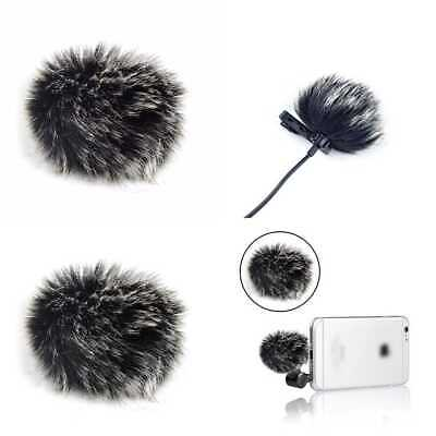 5 Pack Lapel Microphone Windscreen Morfone Mini Size Lavalier Mic Furry Muff/Mic