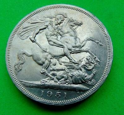 A  Proof  Almost  Unc  1951  George  Vi  Crown  5/-....Lucido_8  Coins
