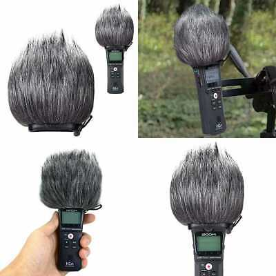 YOUSHARES Zoom H1n Recorder Furry Outdoor Windscreen Muff Pop Filter/Wind Cover