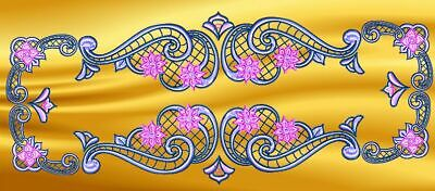 LACE RUNNERS  number 5  FSL  MACHINE EMBROIDERY DESIGNS CD or USB