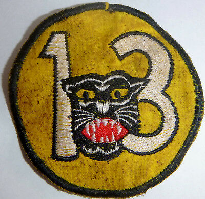 USAF - VARIANT PATCH - 13th TACTICAL FIGHTER - PANTHER PACK - VIETNAM WAR - Y