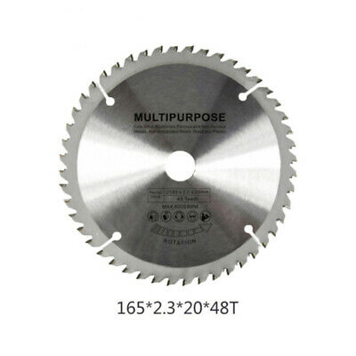 Durable Sharp Plunge Saw Blade For Woodworking 160 mm x 48 Teeth x 20 mm x 2.3mm