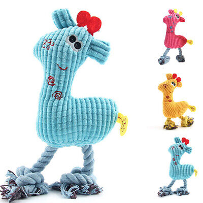 For Dogs Toy Play Funny Pet Puppy Chew Squeaker Squeaky Cute Plush Sound Toy