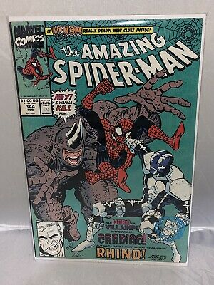 The Amazing Spider-Man #344 (Feb 1991, Marvel): 1st App Of Cletus Kasady