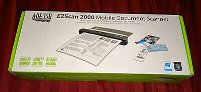 Adesso EZScan 2000 Mobile Document Scanner