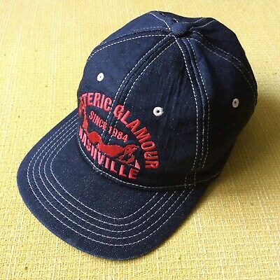 7dbe4188 Hysteric Glamour Denim Embroidery Nashville Lady Truck Hat Made In Japan  Supreme