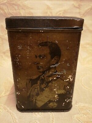 Antique E.I & Co. LTD Shipley Yorks Tin - George VI And Royal Family