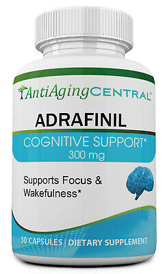 Adrafinil 300mg, 30 Capsules - Made in USA - Heavy Discount!