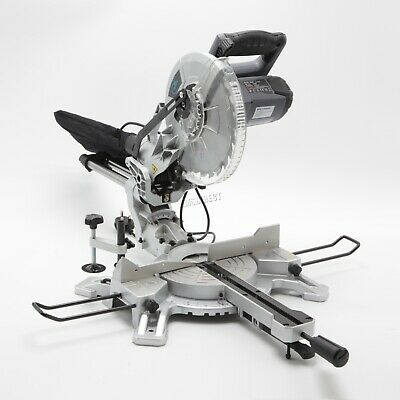 "SwitZer Mitre Saw 10"" Compound Sliding 1800W Double Bevel Cut with Laser Blade"