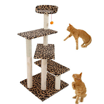 """New 43"""" Cat Tree Tower Condo Furniture Scratching Post Pet Kitty Play House"""