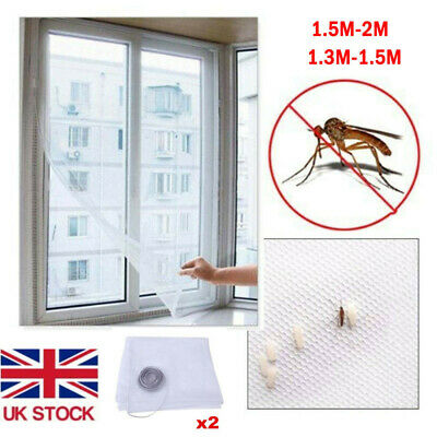 2size Window Insect Screen Mesh Net Fly Bug Mosquito Moth Door Netting Net Cover