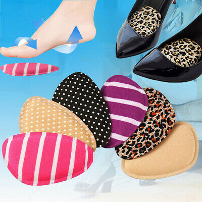 Forefoot Insoles Shoes Sponge High Heel Soft Inserts Anti-Slip Foot Protection B