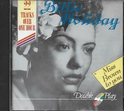 [Music CD] Billy Holliday - Miss Brown to You.